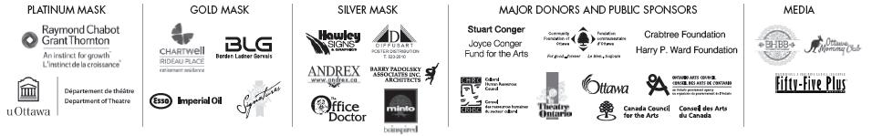 Odyssey Theatre's 2014 sponsors